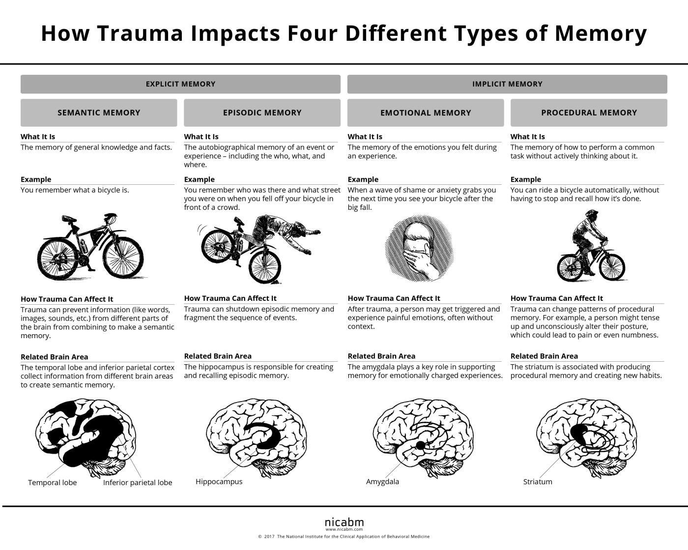 The 4 Kinds Of Memory And How Trauma Affects Each Ron Huxley Lmft